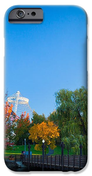 Spokane fall colors iPhone Case by Inge Johnsson