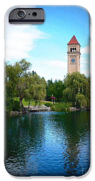 Spokane Riverfront Park iPhone Case by Carol Groenen