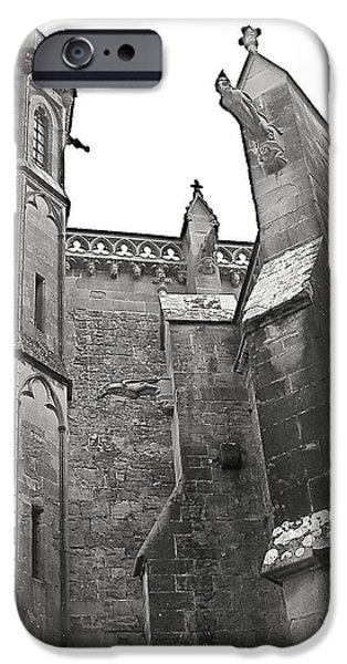Cathar Country iPhone Cases - Classic Goth iPhone Case by France  Art