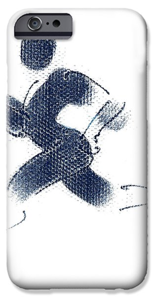 Theo Danella iPhone Cases - Sport A 1 iPhone Case by Theo Danella