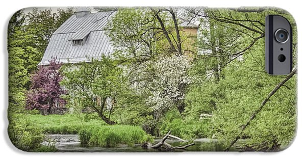 Spring Scenery iPhone Cases - Spring Arrives At The Rose Farm iPhone Case by Thomas Young