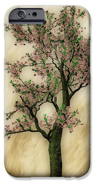 Peacefull iPhone Cases - Spring iPhone Case by Cheryl Young