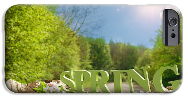 Spring iPhone Cases - Spring Landscape iPhone Case by Amanda And Christopher Elwell