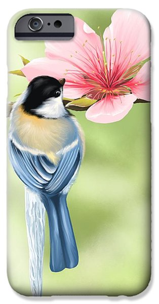 Spring iPhone Cases - Spring fever iPhone Case by Veronica Minozzi