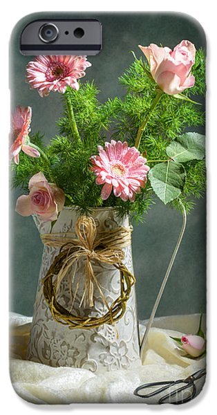 Daisy Bud iPhone Cases - Spring Floral Bouquet iPhone Case by Amanda And Christopher Elwell