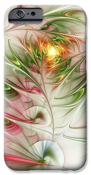 Small iPhone Cases - Spring Flower iPhone Case by Anastasiya Malakhova