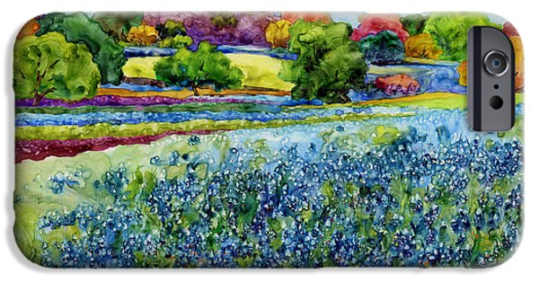 Impression iPhone Cases - Spring Impressions iPhone Case by Hailey E Herrera