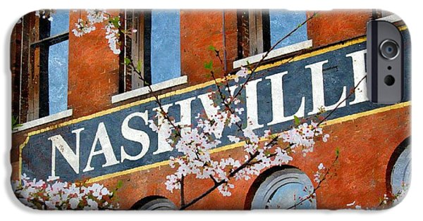 Nashville Architecture iPhone Cases - Spring in Nashville iPhone Case by Karyn Robinson
