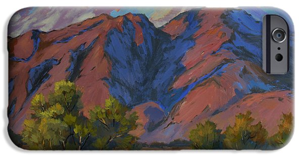 Spring iPhone Cases - Spring in the Mountains iPhone Case by Diane McClary