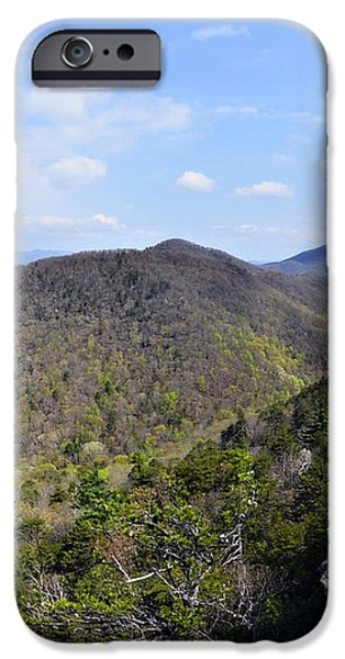Spring in the Mountains iPhone Case by Susan Leggett
