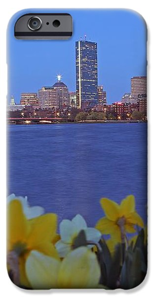 Spring into Boston iPhone Case by Juergen Roth
