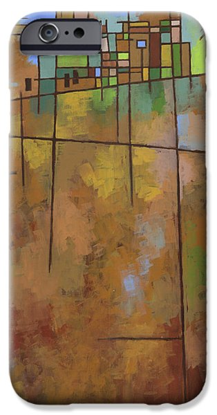 Earth Paintings iPhone Cases - Spring Melt iPhone Case by Douglas Simonson
