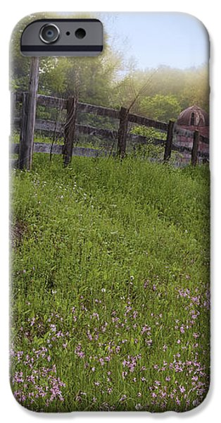 Spring on the farm iPhone Case by Bill  Wakeley