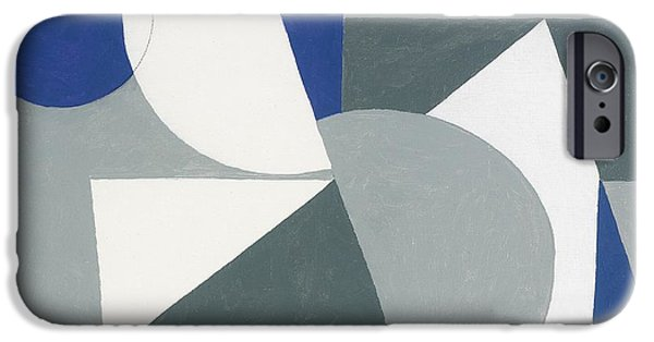 Abstracts iPhone Cases - Spring Painting, 2007 Oil On Canvas Board iPhone Case by George Dannatt
