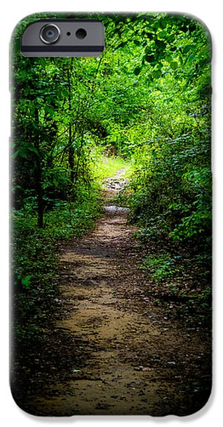 Overhang iPhone Cases - Spring Path to the Light iPhone Case by Shelby  Young