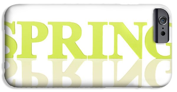 Spring iPhone Cases - Spring Reflected iPhone Case by Amanda And Christopher Elwell