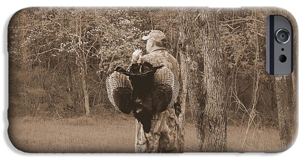 Gobbler iPhone Cases - Spring Season iPhone Case by Todd Hostetter