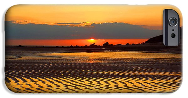 East Dennis Ma iPhone Cases - Spring Sunrise iPhone Case by Dianne Cowen