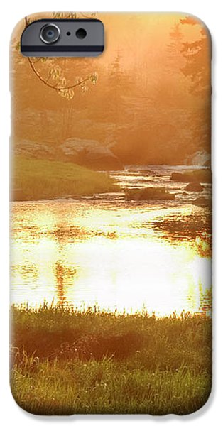 Spring Sunset iPhone Case by Alana Ranney