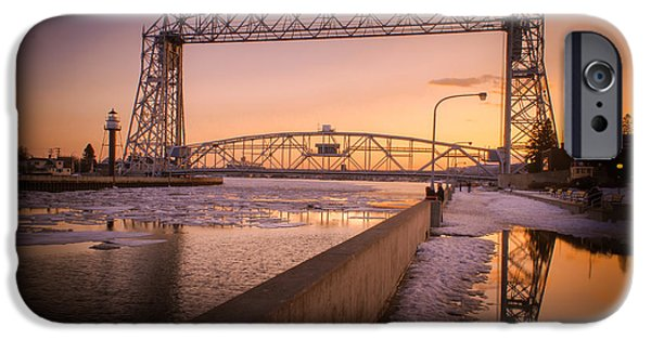 Duluth iPhone Cases - Spring Sunset In Canal Park iPhone Case by Shutter Happens Photography