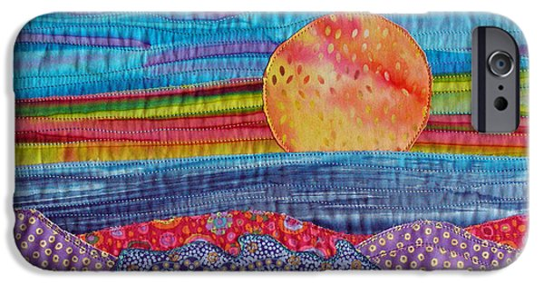 Sunset Tapestries - Textiles iPhone Cases - Spring Sunset iPhone Case by Susan Rienzo