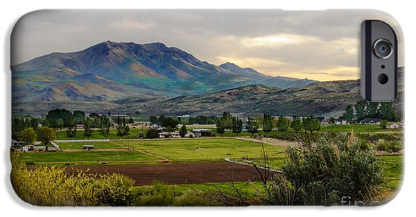 Emmett iPhone Cases - Spring Time in the Valley iPhone Case by Robert Bales
