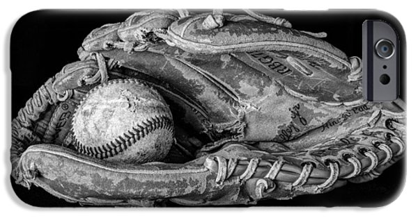 Baseball Glove iPhone Cases - Spring Training iPhone Case by Jeff Burton