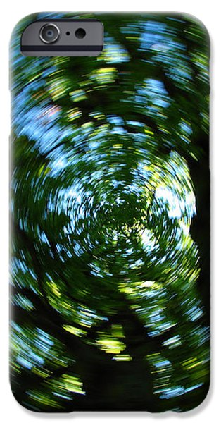 Spring Tree Carousel iPhone Case by Juergen Roth