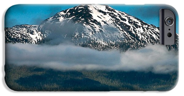 Tongass iPhone Cases - Spring View of the Mountain iPhone Case by Robert Bales