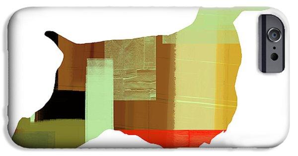 Springer Spaniel iPhone Cases - Springer Spaniel  iPhone Case by Naxart Studio