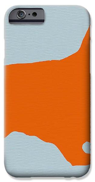 Springer Spaniel Orange iPhone Case by Naxart Studio