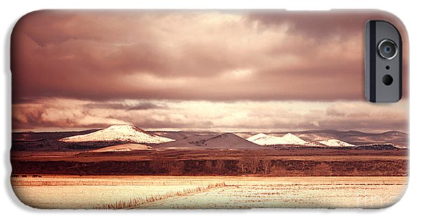 Mounds iPhone Cases - Springerville Arizona View iPhone Case by Donna Van Vlack