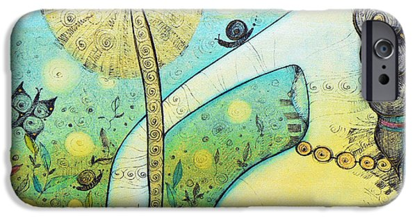 Albena iPhone Cases - Springtime iPhone Case by Albena Vatcheva