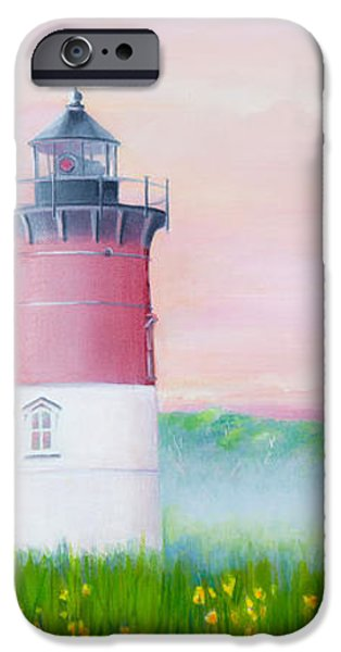 Michelle iPhone Cases - Springtime at Nauset Light Beach iPhone Case by Michelle Wiarda