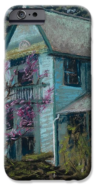 Springtime in Old Town iPhone Case by Mary Benke