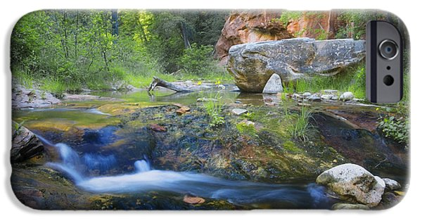 West Fork Photographs iPhone Cases - Springtime in the Canyon iPhone Case by Peter Coskun