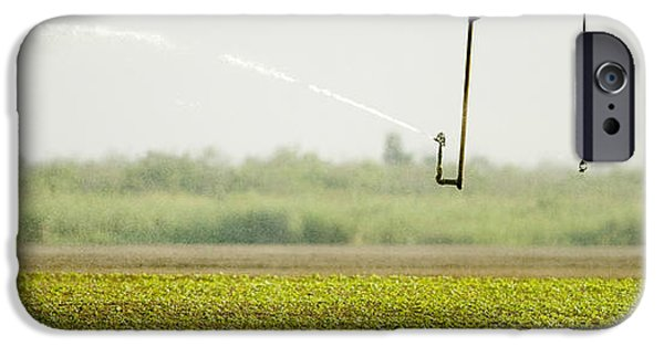 Machinery iPhone Cases - Sprinkler iPhone Case by Celso Diniz