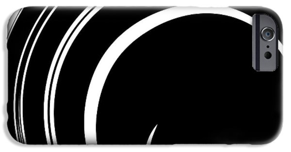 Graphic Language iPhone Cases - Spun iPhone Case by Chris Berry
