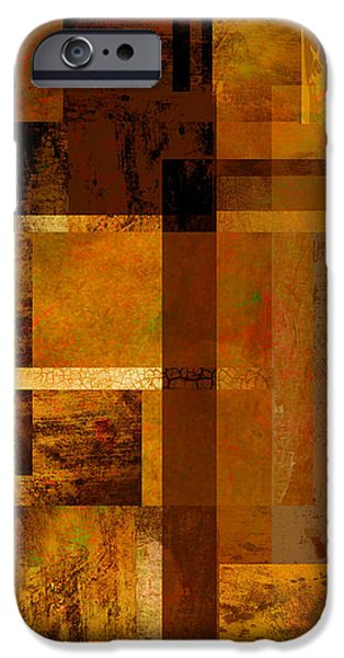 Squares and Rectangles iPhone Case by Ann Powell