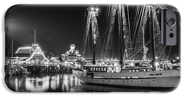 Tall Ship iPhone Cases - SSV Tole Mour By Denise Dube iPhone Case by Denise Dube