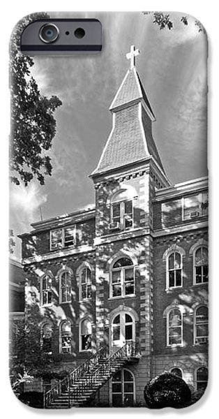 St. Ambrose University Ambrose Hall iPhone Case by University Icons