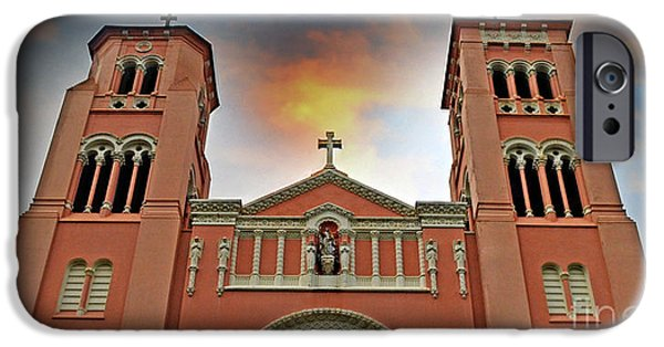 Popular iPhone Cases - St Anne Church of the Sunset in San Francisco iPhone Case by Jim Fitzpatrick
