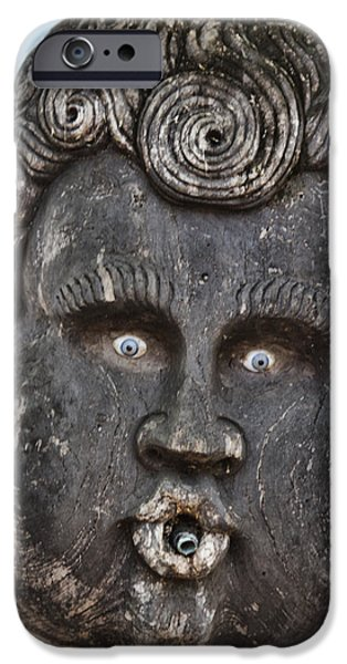 St Augustine Blue Eyes iPhone Case by Deborah Benoit