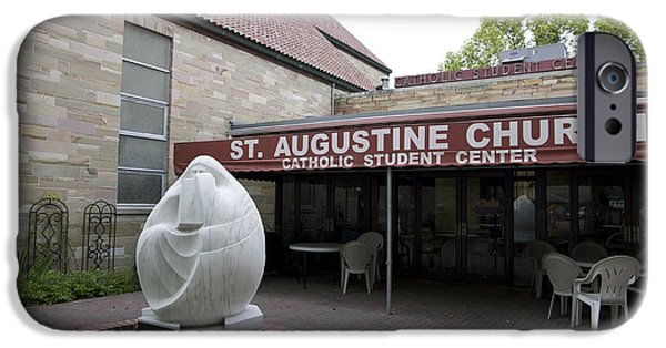 Nombre iPhone Cases - St. Augustine Church iPhone Case by William Ragan