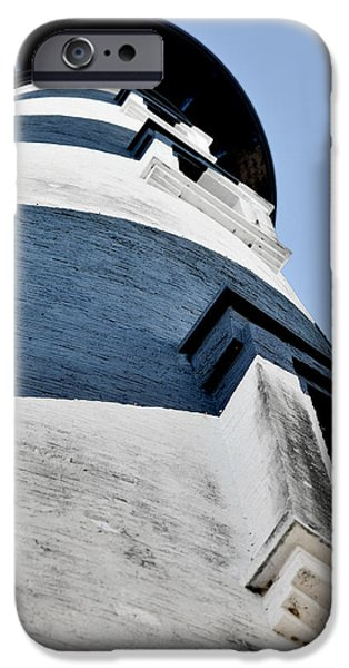 Lightstations iPhone Cases - St Augustine Lighthouse - Angels and Ghosts iPhone Case by Christine Till