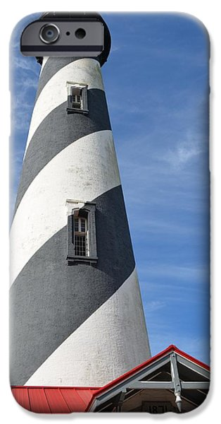 Lighthouse iPhone Cases - St. Augustine Lighthouse iPhone Case by Richard Bryce and Family