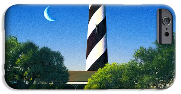 Lighthouse iPhone Cases - St Augustine iPhone Case by MGL Studio - Chris Hiett