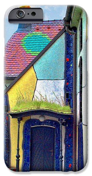 St Barbara Church - Baernbach Austria iPhone Case by Christine Till