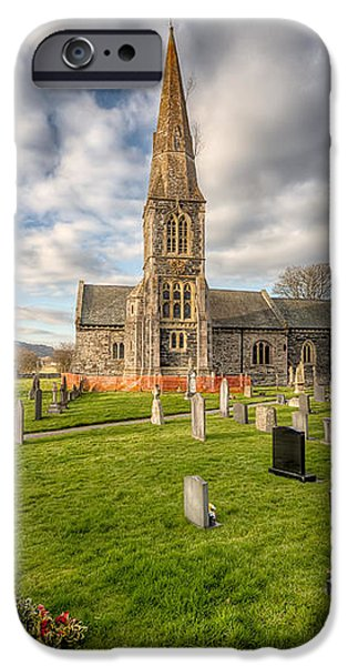 St Beuno Church iPhone Case by Adrian Evans