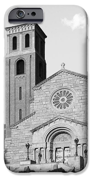 St. Catherine University Our Lady of Victory Chapel iPhone Case by University Icons